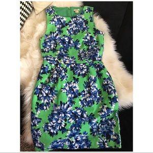 J. Crew floral print dress GORGEOUS